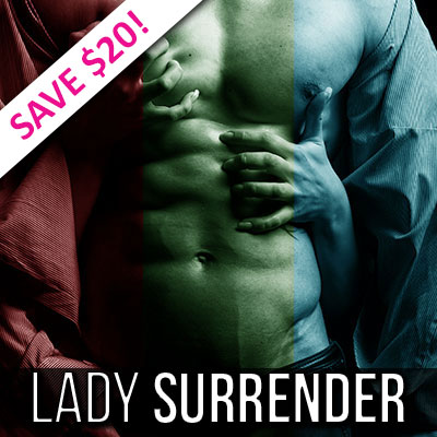 Buy Lady Surrender's Gay Hypnosis Bundle and save $30!