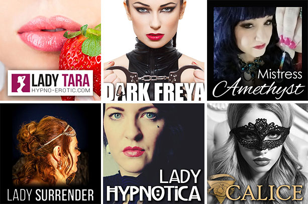 Choose your favorite Hypnodomme for your FemDom, Fetish or HFO experience
