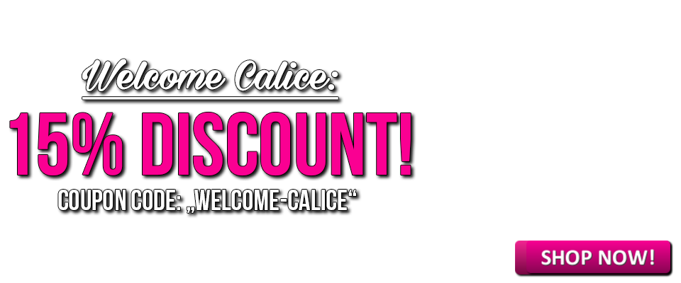Welcome Calice and save 15% on all erotic hypnosis sessions!