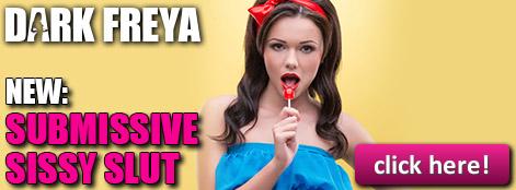 Become Dark Freya's submissive sissy slut!