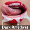 Dark Amethyst's Intense Cum Eating Instructions Session