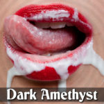 Dark Amethyst's Intense Cum Eating Instructions Session