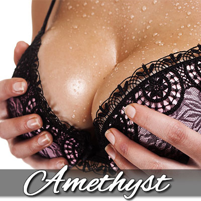 Surrender to Mistress Amethyst's perfect Breasts